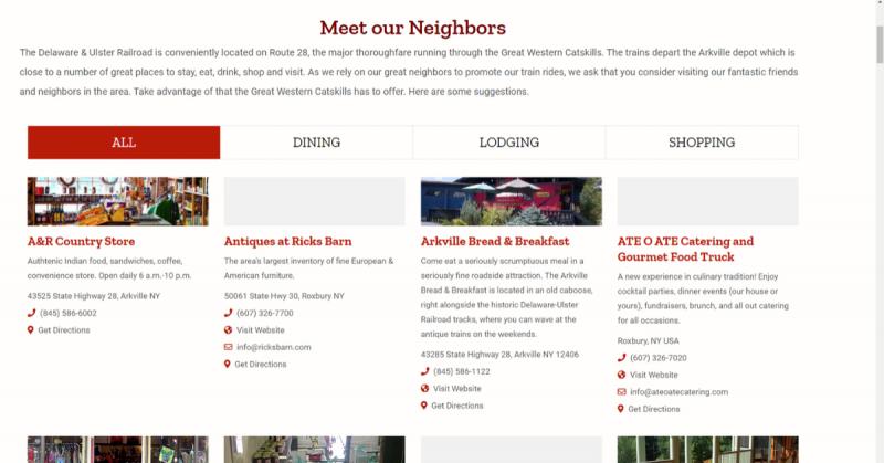 Catskills web design